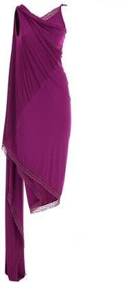 Vetements Lingerie Wrap Dress