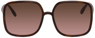 Christian Dior Tortoiseshell SOSTELLAIRE1 Sunglasses