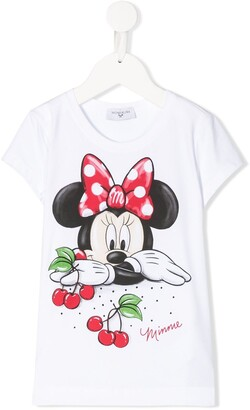 MonnaLisa Minnie Mouse print T-shirt