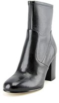 Via Spiga Benita Women Round Toe Leather Ankle Boot.