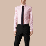 Burberry Modern Fit Gingham Cotton Poplin Shirt