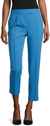 WORTHINGTON Worthington Pintuck Tab Waist Ankle Pant - Tall