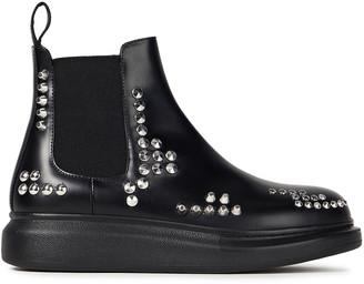Alexander McQueen Mid Heel Boots