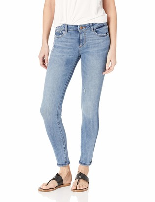 DL1961 Women's Florence Mid Rise Instasculpt Skinny Fit Jeans