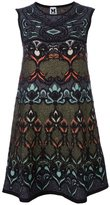 M Missoni multi print shift dress - women - Acrylic/Polyamide/Wool/Metallic Fibre - 40