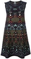 M Missoni multi print shift dress