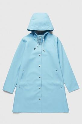 Stutterheim Mosebacke Aqua Womens Raincoat - XXS | aqua - Aqua