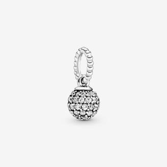 Pandora Pave Ball Pendant