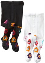 Country Kids Baby-girls Infant Daisy 2 Pair Tights