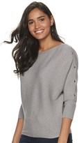 JLO by Jennifer Lopez Women's Dolman Sweater