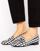 New Look Gingham Check Loafer