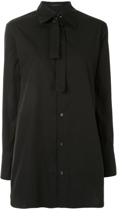 Yohji Yamamoto Button-Up Long-Sleeve Shirt