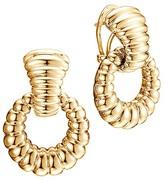John Hardy Bedeg 18K Gold Door Knocker Earrings