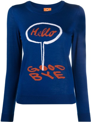Paul Smith Hello Goodbye jumper