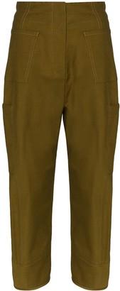 LVIR Wide-Leg Cargo Trousers
