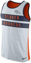 Nike Men's Denver Broncos Stripe Tri Tank