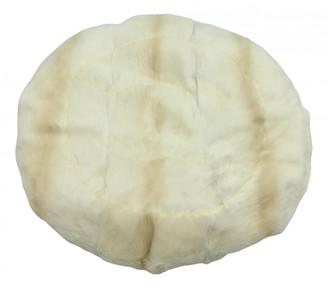 Chanel White Fur Hats