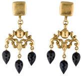 Robin Rotenier 18K Sapphire Drop Earrings