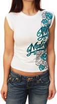 Metal Mulisha Meta Muisha Women's Free Fa Graphic T-Shirt-arge