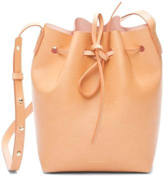 Mansur Gavriel Cammello Mini Bucket Bag - Rosa
