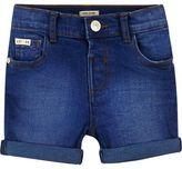 River Island Mini boys blue denim shorts