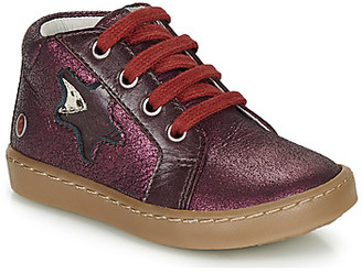 GBB LETO girls's Mid Boots in Red