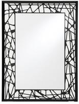 Decorative Wall Mirror Breeze Point Black White