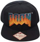 Bioworld Men's Licensed Doom - Logo Snapback Hat O/S