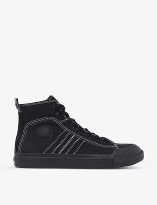 Diesel S-Astico mid-top cotton trainers