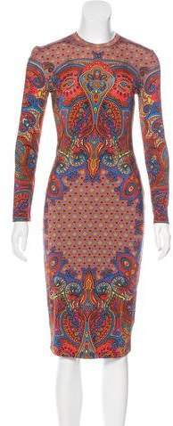 Givenchy Paisley Print Dress