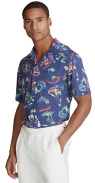 Polo Ralph Lauren Men's Custom Fit Ralph-waiian Shirt