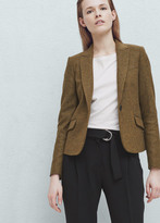 Mango Outlet Wool-blend blazer