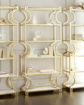 Bernhardt Hayworth Brass Etagere