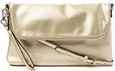 Kathy Ireland Gold Envelope Crossbody Bag