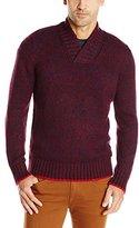 Nautica Men's High Twist Shawl Collar Sweater