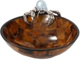 Lotus Arts de Vivre Mosaic Shell Hermit Crab Bowl
