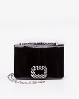 Le Château Embellished Patent Crossbody Bag