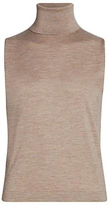 The Row Becca Cashmere & Silk Sleeveless Knit Top