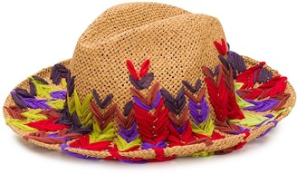 Etro Fly Stitch Embroidered Hat