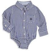 Andy & Evan Baby's Plaid Collared Bodysuit