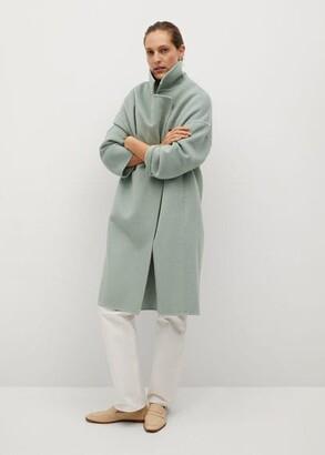 MANGO Handmade wool coat