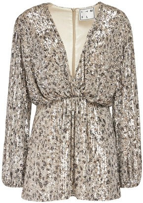 In The Mood For Love Ming Sequined Mini Dress