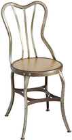 Rejuvenation Metal and Wood Cafe Chair