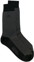 Alexander McQueen embroidered socks - men - Cotton/Polyamide - S