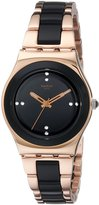 Swatch Women's YLG123G Rose Pearl Analog Display Analog Quartz Rose Gold Watch