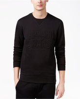 Armani Jeans Men's Embroidered Eagle Logo Sweatshirt