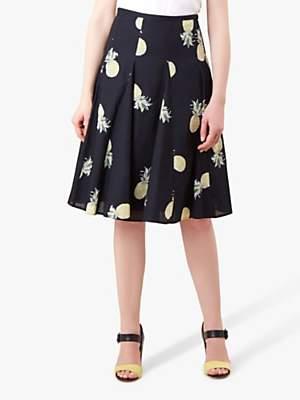 Hobbs Melina Skirt, Navy/Multi