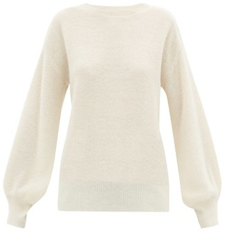 Apiece Apart Vida Alpaca-blend Sweater - Cream