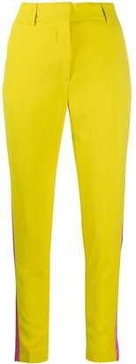 MSGM Side Stripe Skinny Trousers