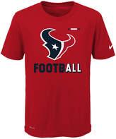 Nike Houston Texans Legend Football T-Shirt, Big Boys (8-20)